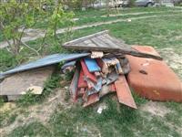 Разобранная песочница на Луначарского,63, Фото: 5