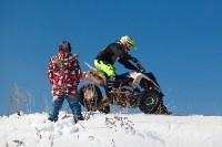 Соревнования по мотокроссу в посёлке Ревякино., Фото: 1