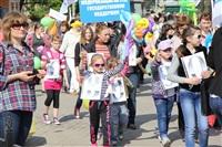 Тульская Федерация профсоюзов провела митинг и первомайское шествие. 1.05.2014, Фото: 33