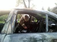 """Туляк """"избил"""" машину и сжег. Фоторепортаж., Фото: 7"""