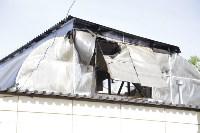 """На ул.9 Мая сгорел рынок """"Салют"""", Фото: 28"""