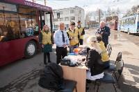 Конкурс водителей троллейбусов, Фото: 1