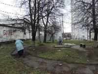 Субботник в доме по ул. Октябрьская/Пузакова 80/1, Фото: 6