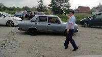 Опашка, бетонные блоки и разъяснения указа губернатора: Полицейские провели рейд в Кондуках, Фото: 1