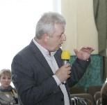 В Донском Алексей Дюмин вручил школе искусств сертификат на покупку домры, Фото: 5