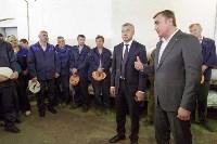 Алексей Дюмин посетил Ефремовский завод синтетического каучука, Фото: 10