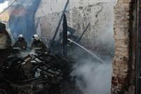 Пожар на хлебоприемном предприятии в Плавске., Фото: 25