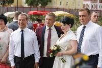 Дмитрий Медведев посетил Тулу с рабочим визитом, Фото: 9