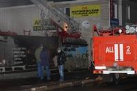 На ул. Оборонной в Туле сгорел магазин., Фото: 26