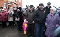 Кимовские новоселы получили ключи из рук губернатора Владимира Груздева, Фото: 2
