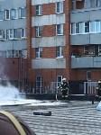 Загорелся недостроенный ТЦ на Красноармейском проспекте, Фото: 14
