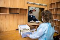 Экспресс-тест на covid-19, маски и социальная дистанция: В Туле первых призывников отправили в армию, Фото: 11