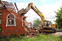 В Плеханово продолжается снос незаконных цыганских построек, Фото: 104