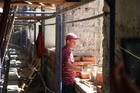 Груздев инспектирует строительство бассейна на Гоголевской. 3.08.2015, Фото: 19