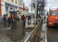 В Туле моют тротуары, Фото: 3