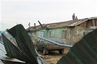 Последствия урагана в Ефремове., Фото: 15