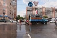 Возле роддома в центре Тулы забил фонтан, Фото: 13