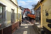 Снос аварийного дома на улице Октябрьской, Фото: 53