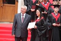 Владимир Груздев поздравил выпускников магистратуры ТулГУ, Фото: 82