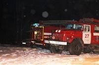 В Туле пожарные потушили сарай рядом с жилым домом, Фото: 6