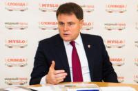 Владимир Груздев пообщался с журналистами «Слободы» и Myslo, Фото: 7