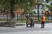 Ремонт улицы Оборонной в Туле, Фото: 5