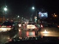 Авария вечером 15 декабря: легковушка врезалась в заправочную стеллу, Фото: 1