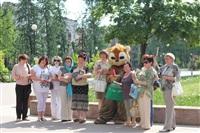 В Туле прошел флешмоб «Читающий парк», Фото: 40