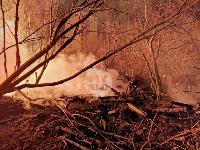 Крупный ночной пожар в Туле, Фото: 8