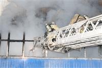 Пожар на складе ОАО «Тулабумпром». 30 января 2014, Фото: 5