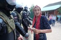 В Плеханово начали сносить дома в цыганском таборе, Фото: 154