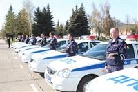 Тульским ГАИшникам передали ключи от новых машин, Фото: 3