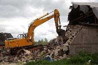 В Плеханово продолжается снос незаконных цыганских построек, Фото: 61