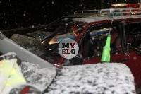 В ДТП на М-2 в Туле пострадали четыре человека, Фото: 18
