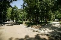 В Туле началось благоустройство скверов и дворов, Фото: 18