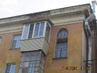 Аварийный фасад в центре Тулы, Фото: 2