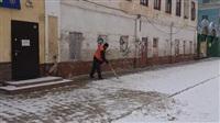 Уборка снега. 17 марта 2014, Фото: 8