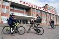 По центральным улицам Тулы прошел велопробег, Фото: 6