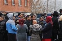 В ходе зачистки на Центральном рынке Тулы задержаны 350 человек, Фото: 20