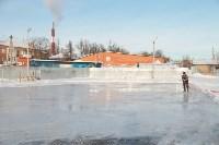 Инспектирование катка в Щёкино. 29.12.2014, Фото: 6