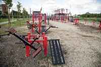 В Туле на набережной Упы открылась уникальная спортплощадка для занятий фитнесом и бодибилдингом, Фото: 4