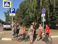 Сотрудники ГИБДД проверили юных пешеходов и велосипедистов, Фото: 2