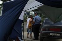 В Туле легковушка протаранила торговую палатку, Фото: 13