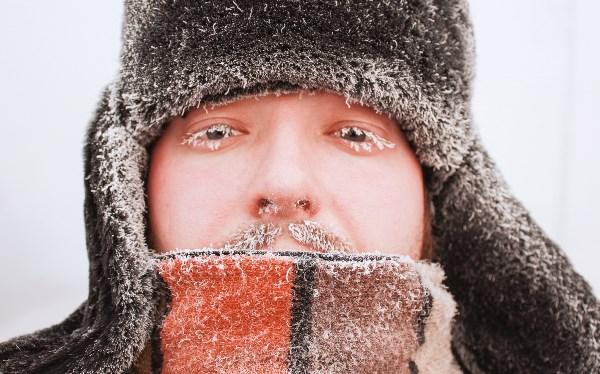 Уши то в тепле... (февраль 2009г, Норильск, -46)