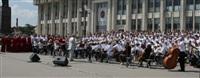 Площадь Ленина наполнили звуки хорового пения, Фото: 1