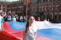 Тульская Федерация профсоюзов провела митинг и первомайское шествие. 1.05.2014, Фото: 10
