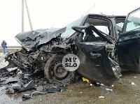 В страшном ДТП под Тулой погибли два человека, Фото: 10