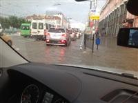 Центр Тулы затопило, Фото: 3