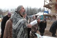 Освящение креста купола Свято-Казанского храма, Фото: 4