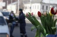 Полицейские поздравили автоледи с 8 Марта, Фото: 25
